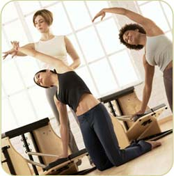 Pilates San Diego Reformer Partner Training